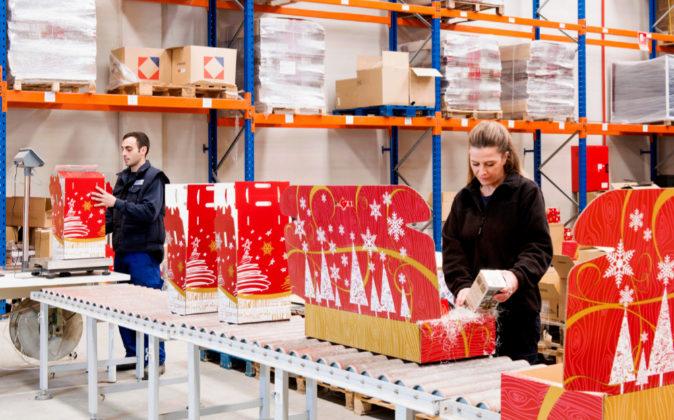 hacer cestas de navidad