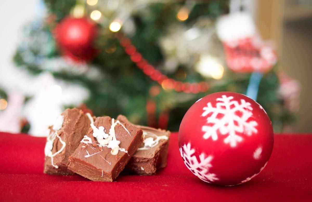 chocolate en navidad