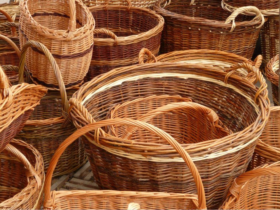 reutilizar cestas de navidad