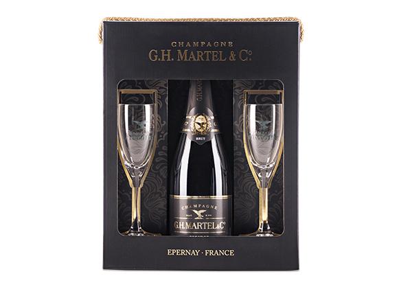 Estuche Champagne